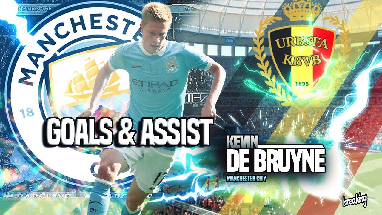 Kevin De Bruyne Goals, Assist & Skills 2016/2017 HD - YouTube