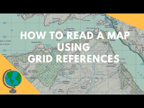 How to read Maps - Grid References (Geography Skills)