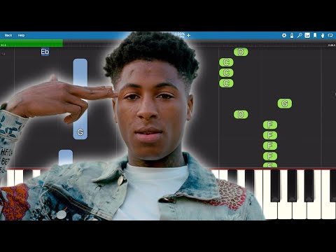 YoungBoy Never Broke Again – Dirty Iyanna – Piano Tutorial