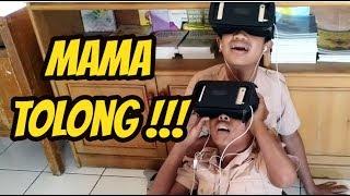 Reaksi Lucu Bocah Nonton Virtual Reality
