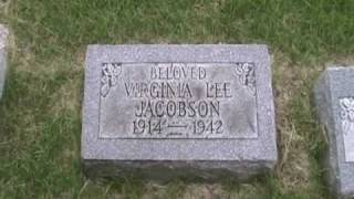 Strolling Through Westlawn Cemetery - Virginia Lee Corbin Jacobson