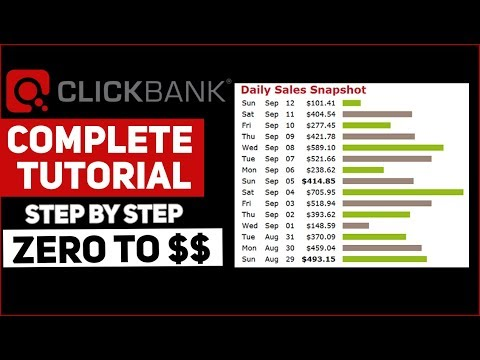 COMPLETE Clickbank Tutorial For Beginners 2019 - How To Earn Money With Clickbank (FREE COURSE)