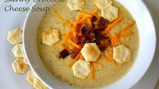 Healthy Broccoli Cheese Soup Recipe