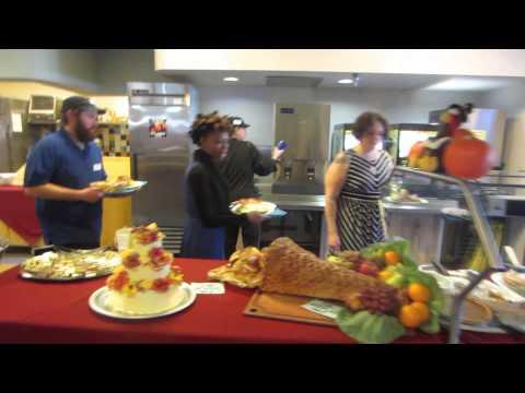 Thanksgiving dinner at McMurdo Station