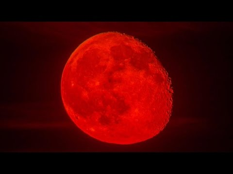 red moon eclipse why - photo #14