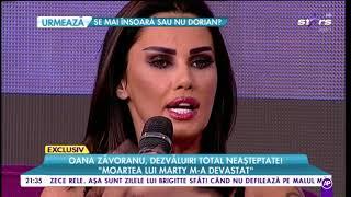 Oana Zăvoranu se credea fiica lui Lucifer: Era să îmi omor soțul
