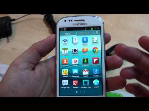 Samsung i8190 Galaxy S III Mini  review HD ( in ROmana ) - www.TelefonulTau.eu -