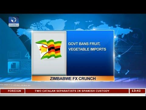 Zimbabwe Bans Fruit, Vegetable Imports |Business Incorporated|