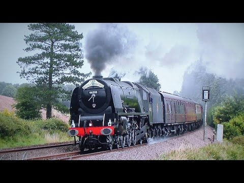 LMS 46233 Thunders Over The Devon Banks - The Royal Duchy 2016