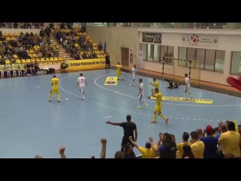 Futsal | România – Finlanda 5-5, preliminarii Euro 2018