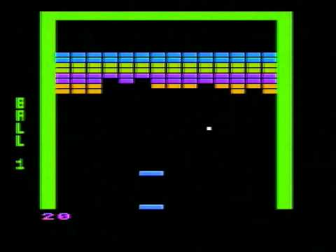 Atari 8-bit - Super Breakout [Atari] 1979