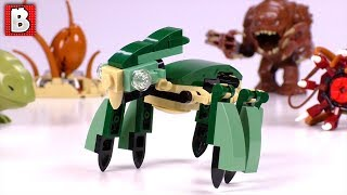 Collectible LEGO Star Wars Acklay Foil Pack Opening and Build + some more Monsters :)