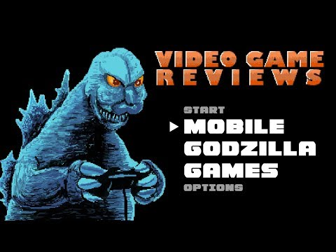 Mobile Godzilla Games - MIB Video Game Reviews Ep 1
