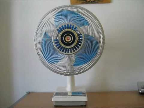 1978 Kdk 30 Cm 12 Desk Fan Youtube