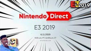 NINTENDO DIRECT PRESS CONFERENCE [E3 2019] - LIVE REACTION | runJDrun