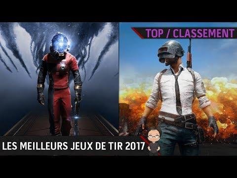 TOP 5. Les jeux de tir qu'il ne fallait pas manquer en 2017 !