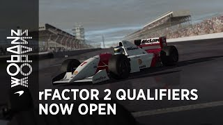 Your next chance to get involved with the McLaren Shadow Project on rFactor 2