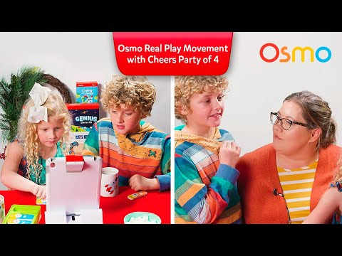 Osmo Real Play Movement with Cheers Party of 4
