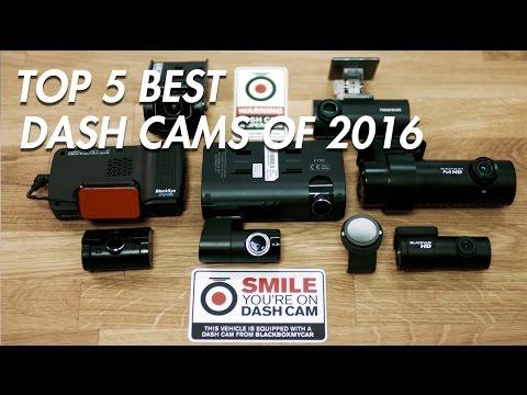 Top 5 Dash Cams Of 2016 - BlackSys, Thinkware, BlackVue, Street Guardian - BlackboxMyCar