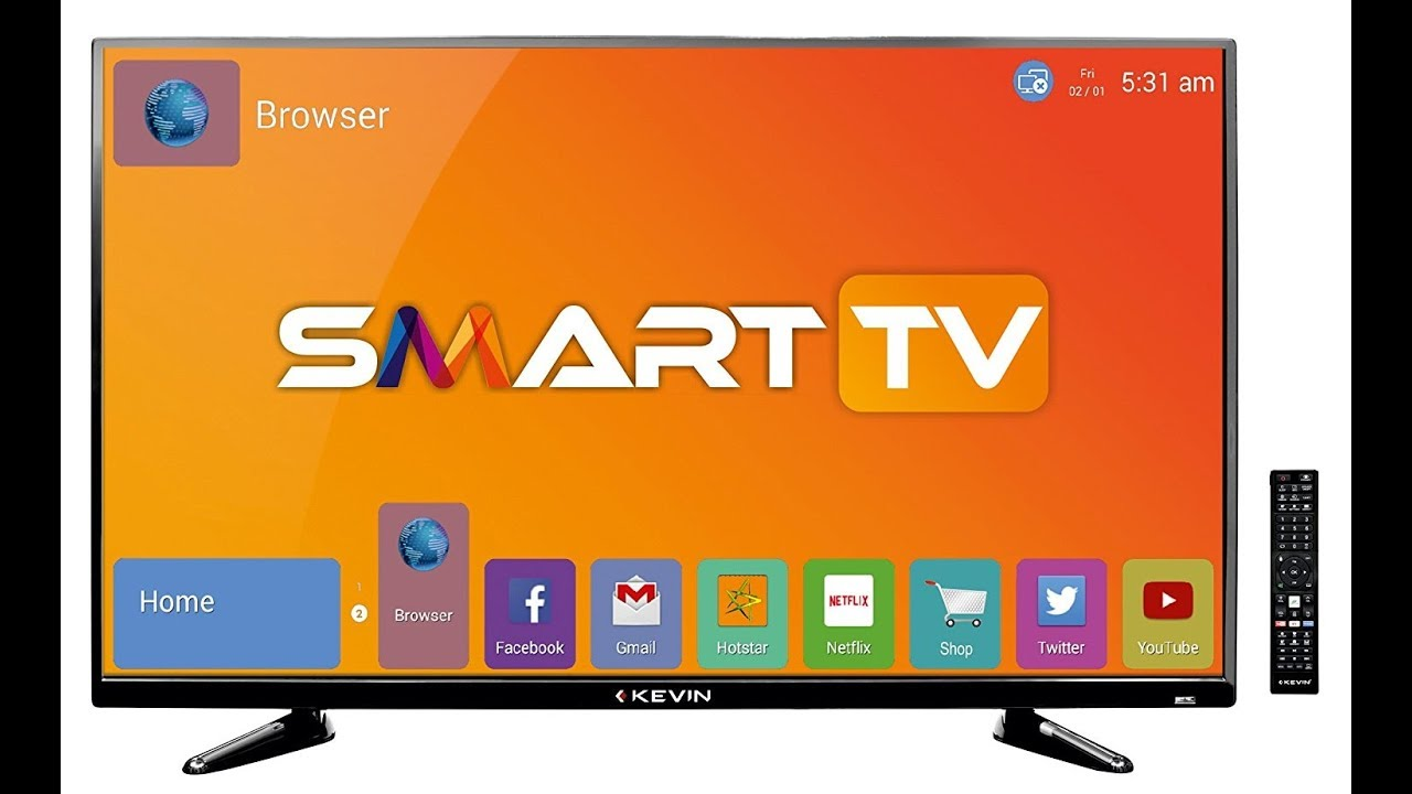 f087c318235 Kevin (40 Inches) KN40S Full HD LED SMART TV best price buy