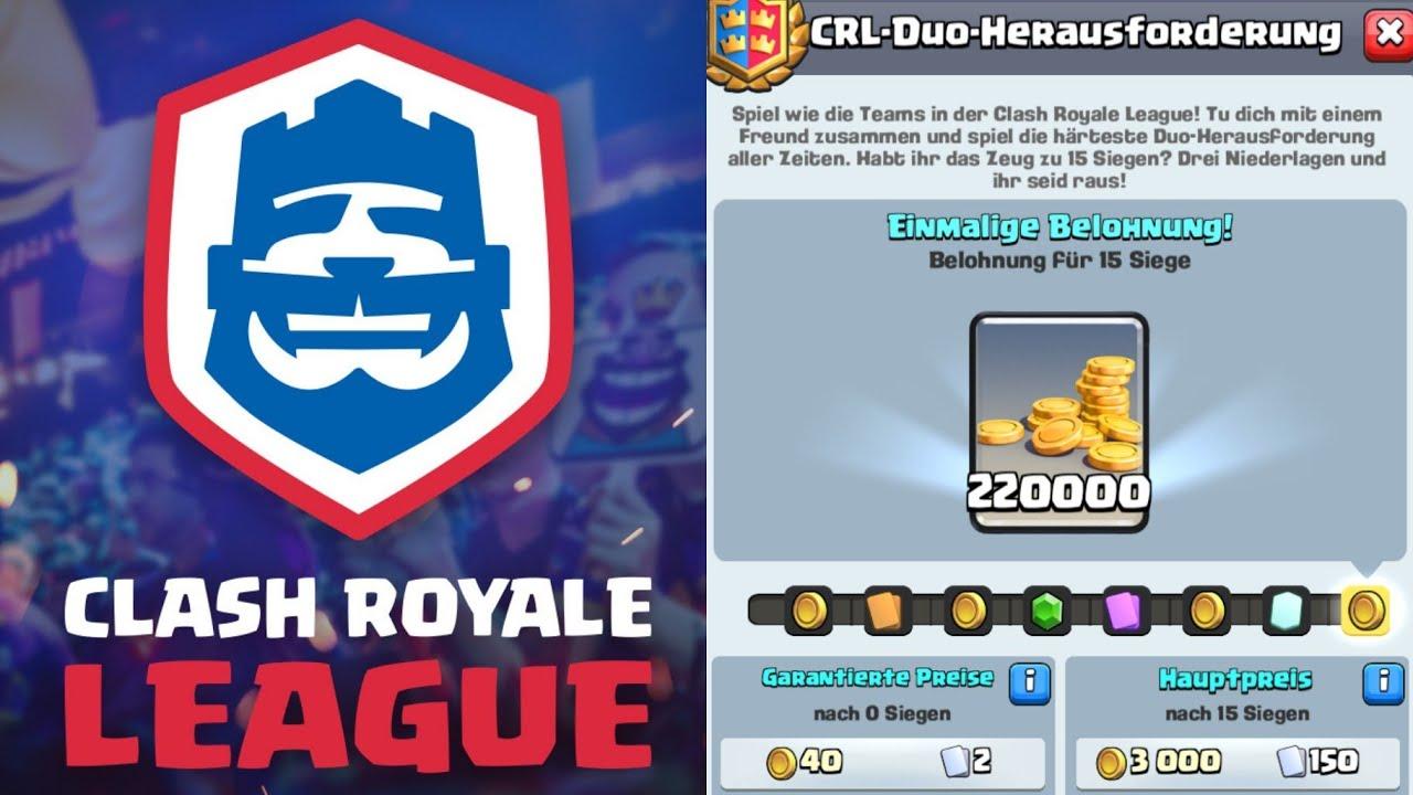 5 DECKS & TIPPS FÜR CRL DUO CHALLENGE! | 2v2 CRL Challenge | Clash Royale  deutsch