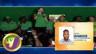 TVJ News: Jamaica By-election PNP Shocking Defeat in East Portland (Midday News) - April 5 2019