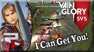 3.3 Vainglory 5v5 Ranked: Jungle Wp Black Feather: He's So Amazing Late Game!!
