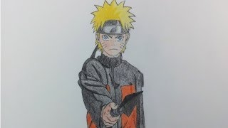 Drawing Naruto (Shippuden)
