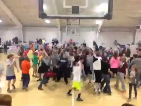 Alcorn central Middle school Harlem shake