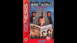 Home Alone 2 Прохождение (Sega Rus)