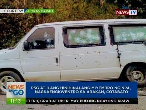 NTG: PSG at ilang hinihinalang miyembro ng NPA, nagkaengkwentro sa Arakan, Cotabato