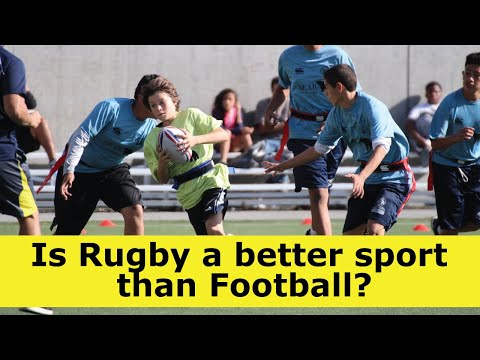 Is Rugby A Better Sport Than Football?