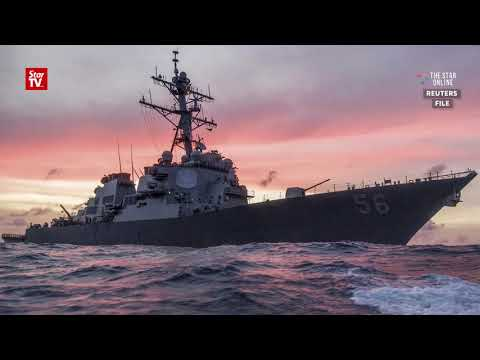 US Navy destroyer collision: Malaysia assisting in search for 10 sailors