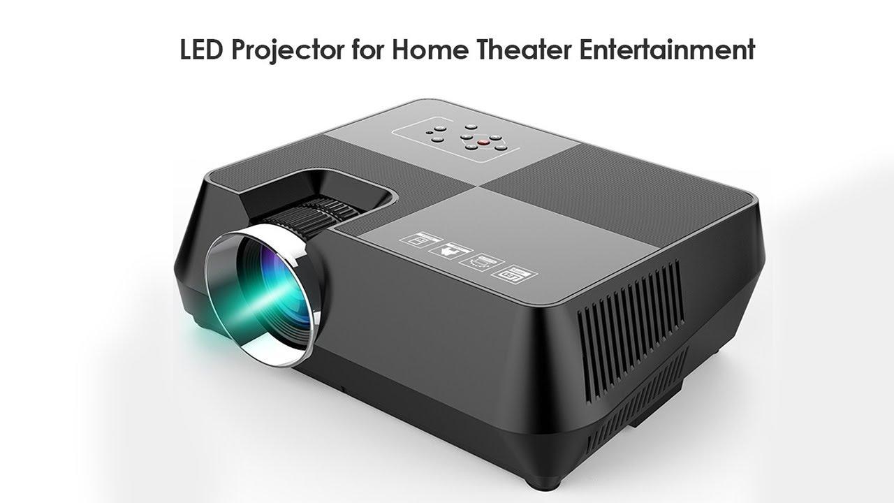 LED проектор H80 с AliExpress Обзор Цена Купить Нет звука в видео .