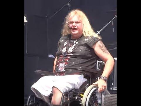 Steve Grimmett of Grim Reaper talks about his leg loss - interview w/ Metal voice..!