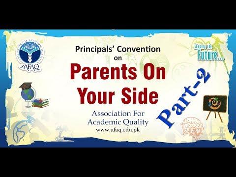 Principals' Convention 2018 by AFAQ Karachi South Part-2
