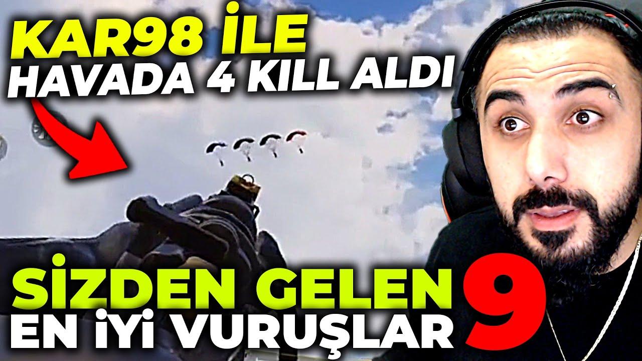 HAVADA KAR98 İLE 4 KILL ALDI!! 😮 EN İYİ VURUŞLAR #9 | PUBG MOBILE