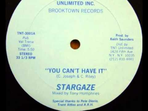 STARGAZE 1982 you can't have it