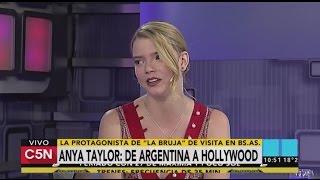 C5N - Cine: Entrevista a Anya Taylor, de Argentina a Hollywood