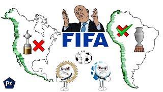 ¿POR QUÉ CONMEBOL Y CONCACAF SIGUEN DIVIDIDAS?