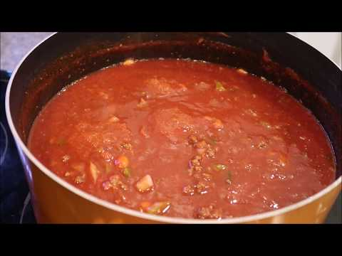 Wendy's Chili - How To Make