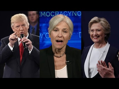 "Part 3: Jill Stein Spars with Clinton & Trump in ""Expanding the Debate"" Special"