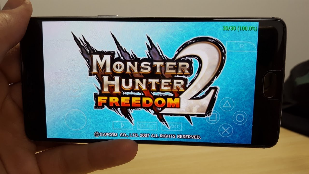 Monster Hunter Freedom 2 Gameplay Android PSP emulator PPSSPP Snapdragon  821 by TechUtopia