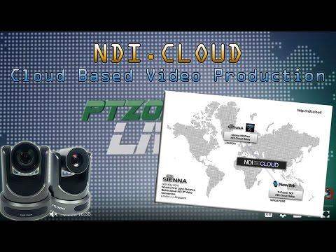 NDI.CLOUD - SIENNA NDI - Cloud Based Video Production with Mark Gilbert