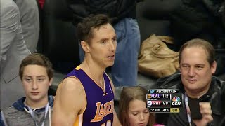 Steve Nash 19 Points, 5 Assists @ Philadelphia 76ers - Full Highlights 07/02/2014
