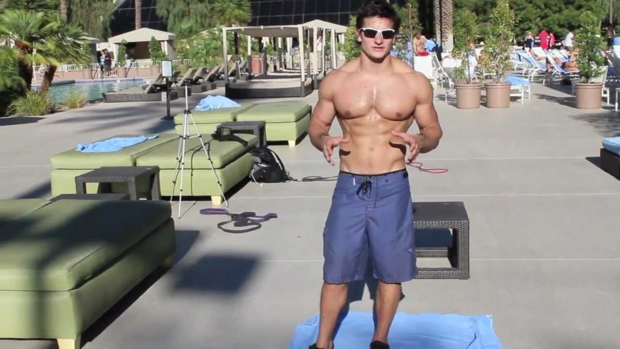 Arm Pump Poppin 6 Pack Abs Pool Workout Youtube
