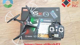 Unboxing Quadcopter SYMA X5sc explorer 2 | Gokano