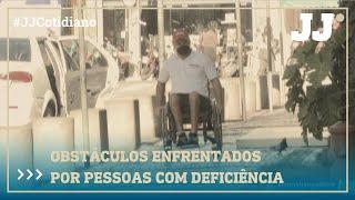 Obstáculos enfrentados por pessoas com deficiência em Fortaleza
