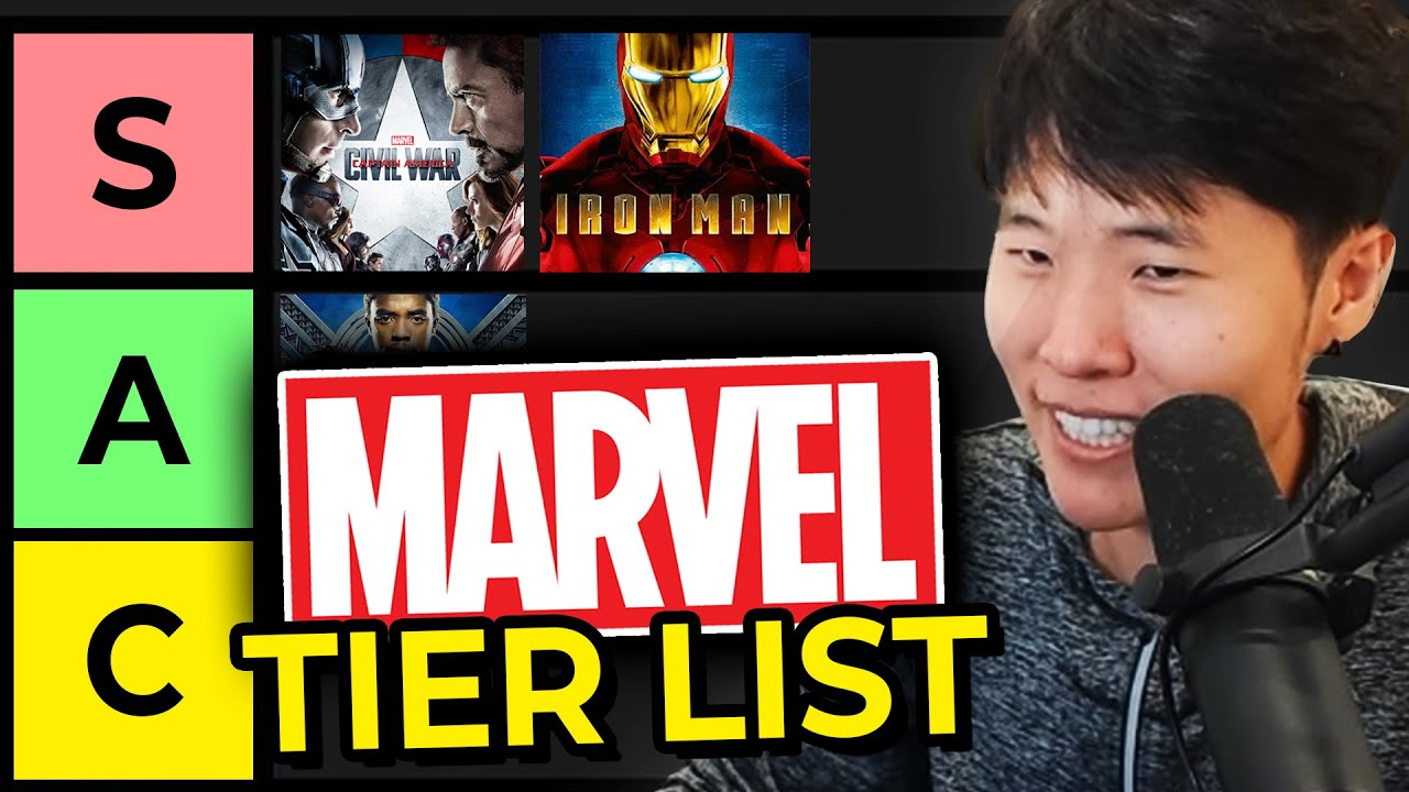 My Marvel Movie Tier List