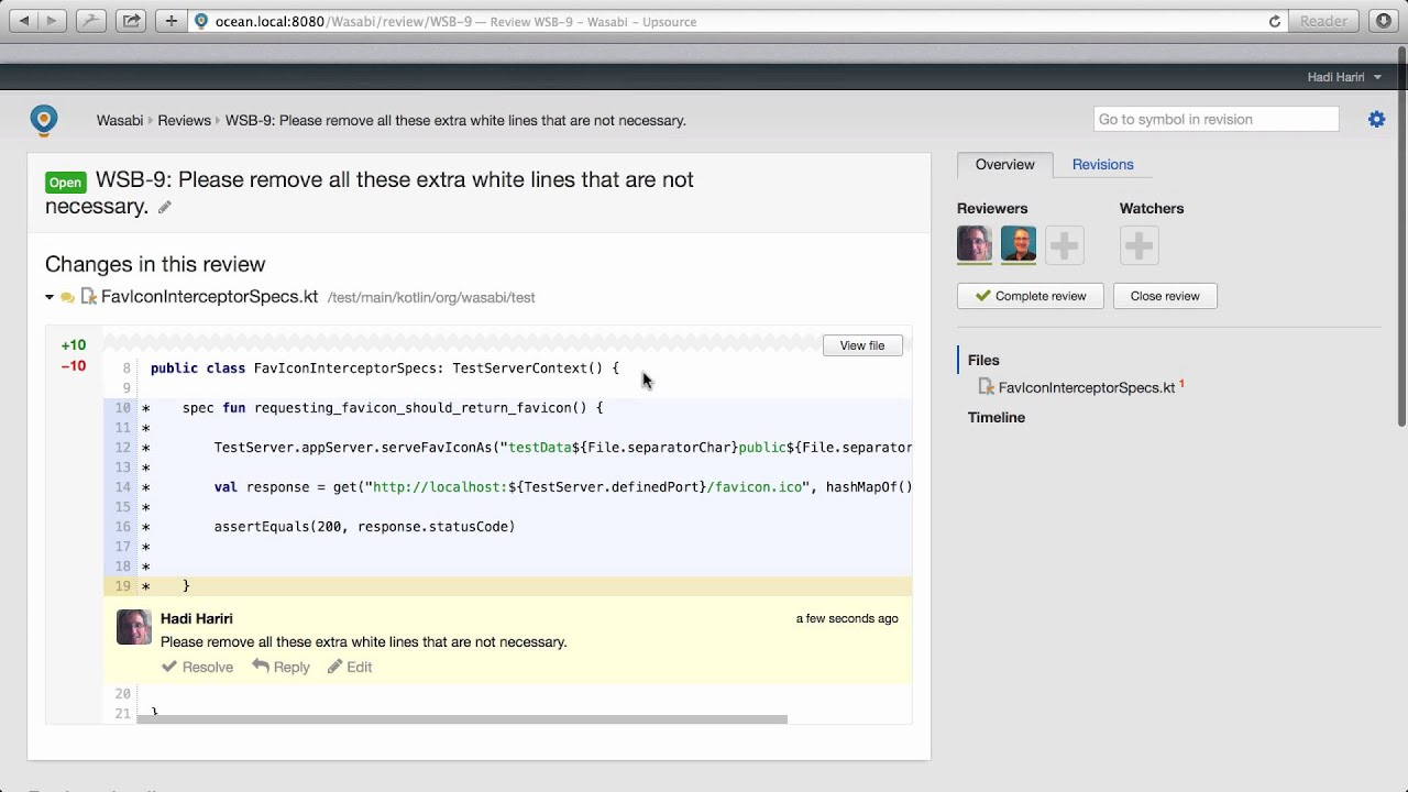 Learn About Code Review Conversation